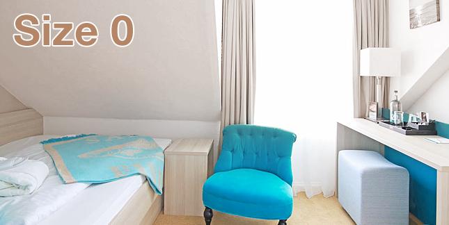 Einzelzimmer Size 0